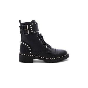 Sam Edelman Jennifer Leather Combat Studded Boot